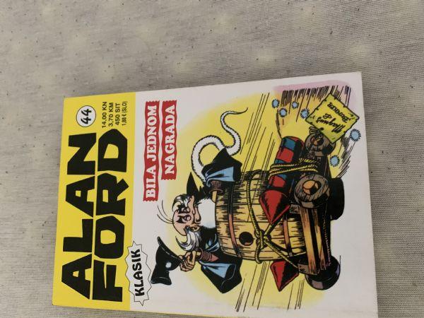 Alan Ford Klasik br. 44 Bila jednom nagrada