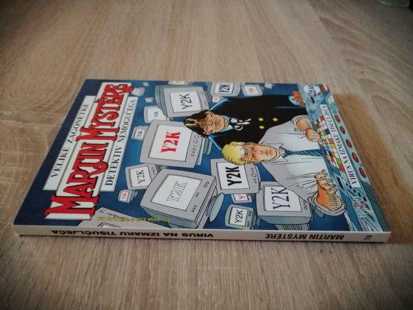 Martin Mystere 74 - Virus na izmaku tisućljeća (Strip agent)
