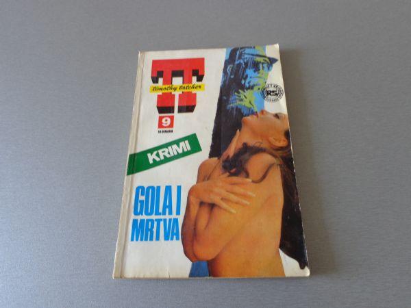 TIMOTHY TATCHER Br 9  GOLA I MRTVA  1976 GOD.  ( 4 / 4+ )