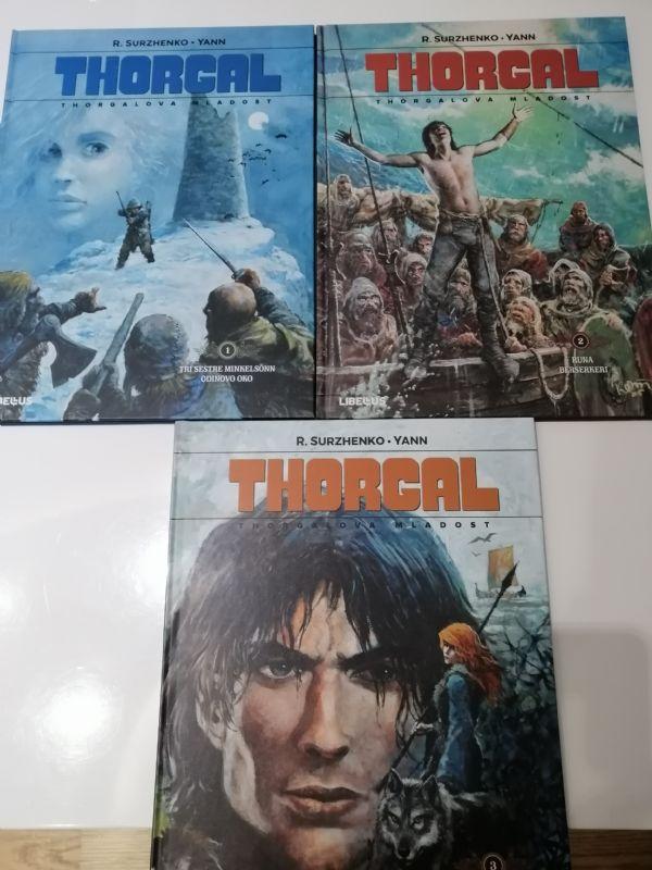 Thorgalova mladost 1-3 ošteceni