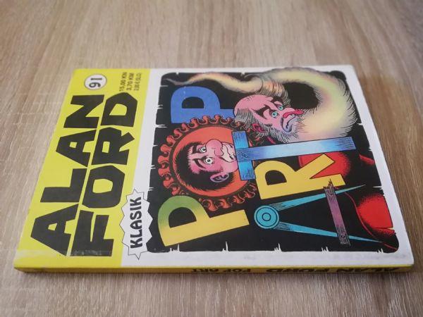Alan Ford extra 91 - Pop art (Strip agent)