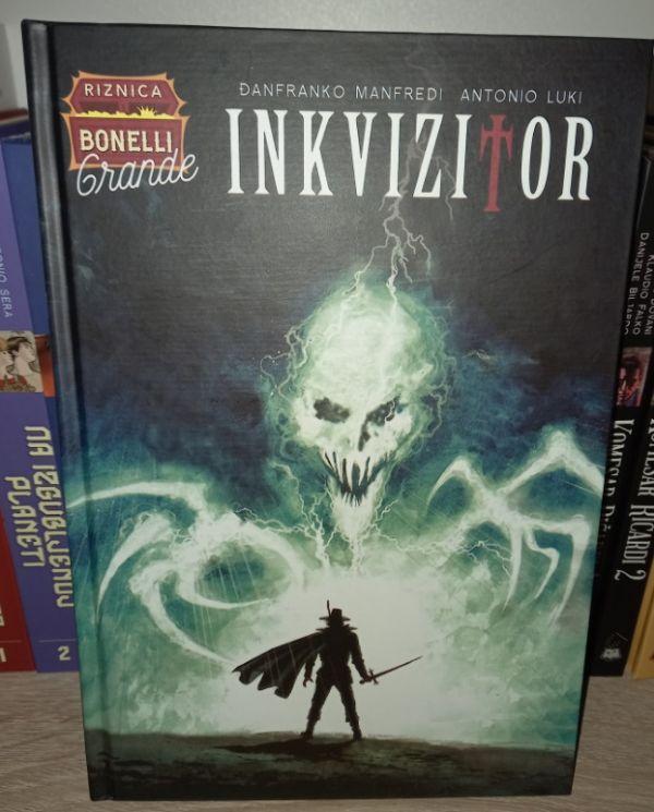 Riznica Bonelli Grande br.4 Inkvizitor Čarobna knjiga