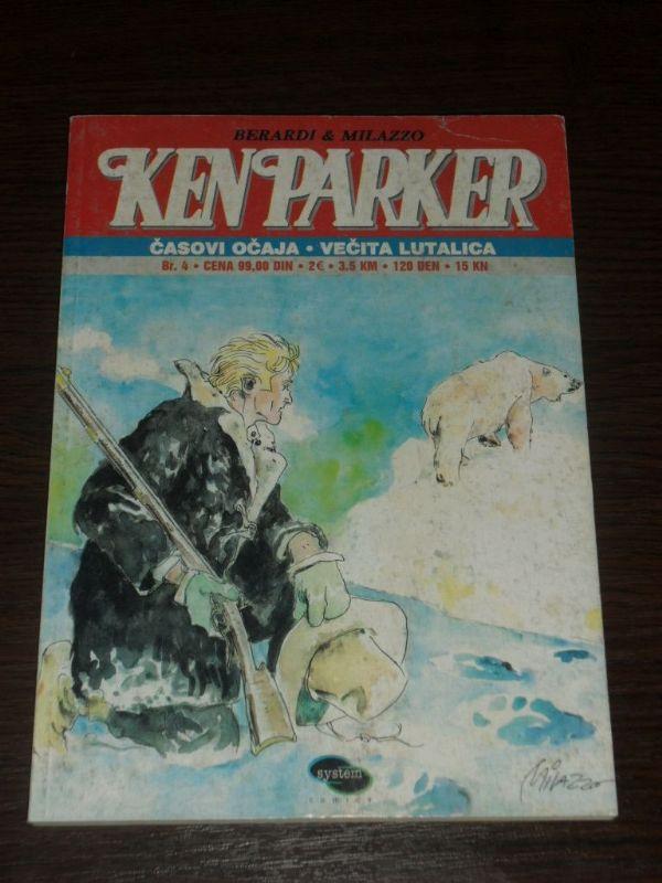 Ken Parker SC br. 4 Časovi očaja - Večita lutalica (4)