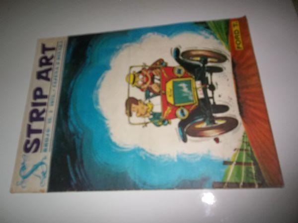 STRIP ART BROJ 6 prvo izdanje iz 1972 godine, veliki format