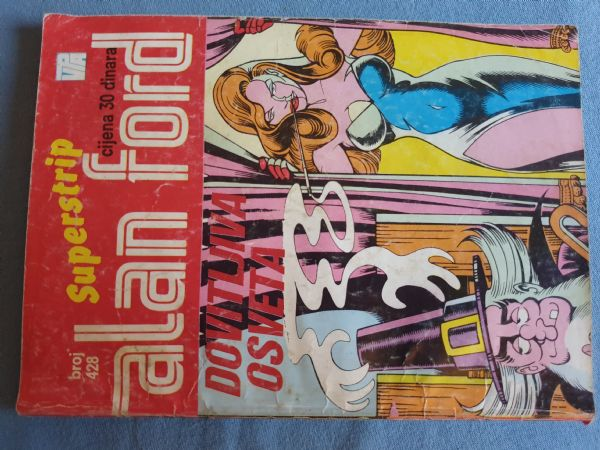Alan Ford Super strip (RS ) Br 428     Ocijena 4