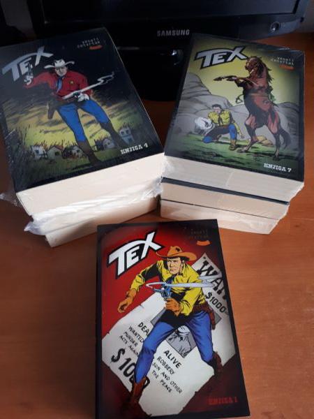 Tex VČ knjige 1-7