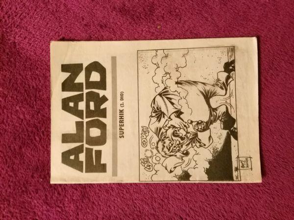 Alan Ford Prilog Večernjeg lista - Superhik II.dio (5-)