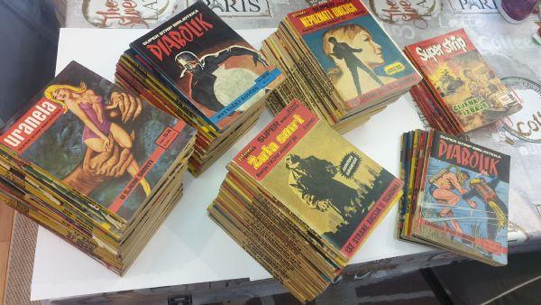 Lot Super strip biblioteka, plavi vjesnik. 72 komada
