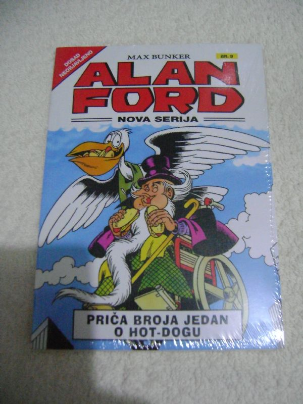 ALAN FORD - NOVA SERIJA - 9