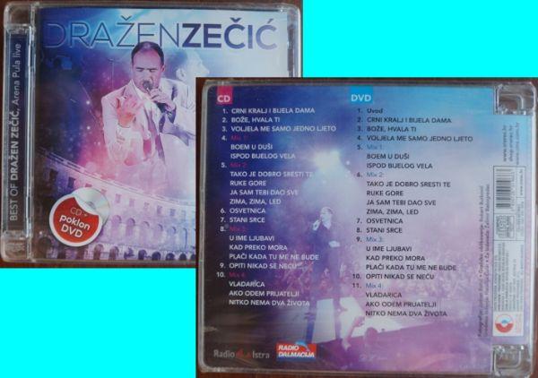CD + DVD: Držane Zečić The best of Pula live