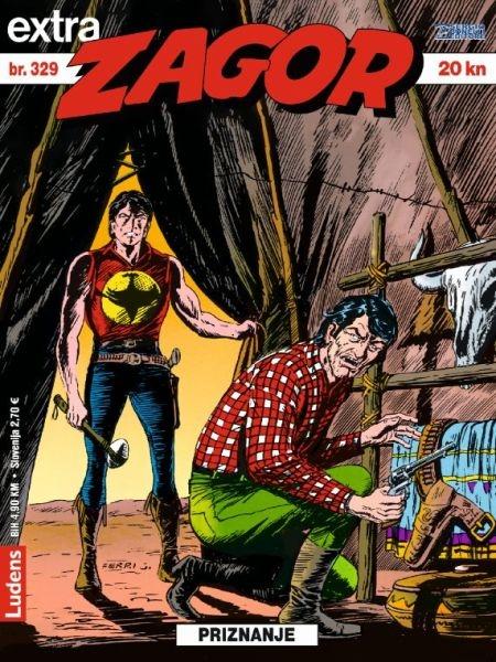 ZAGOR EXTRA ( Ludens ) br. 329
