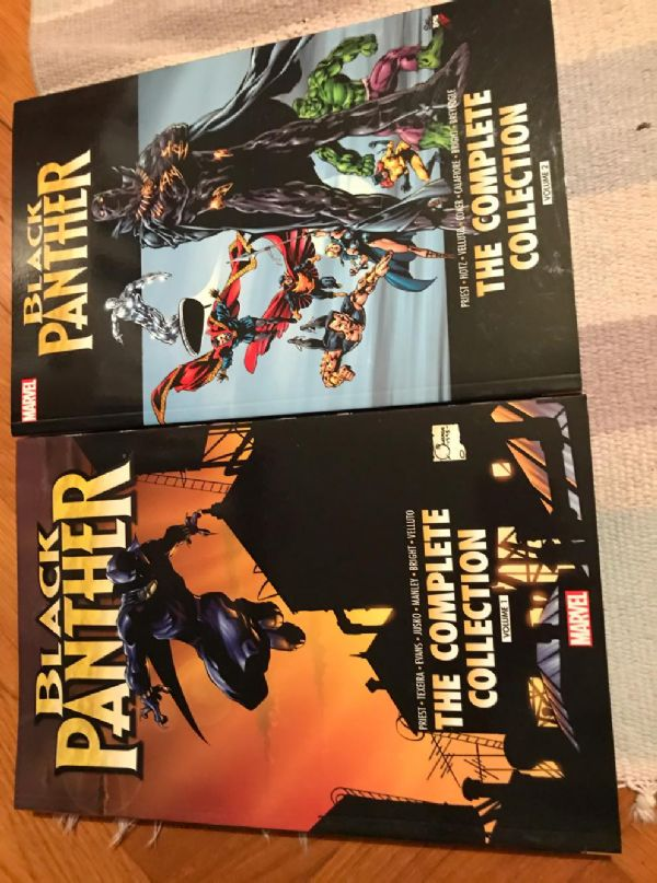 Black Panther by Christoper Priest Complete Collection 1,2