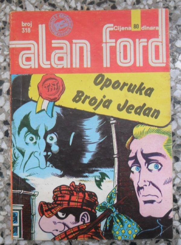 Alan Ford SS 318 - OPORUKA BROJA JEDAN