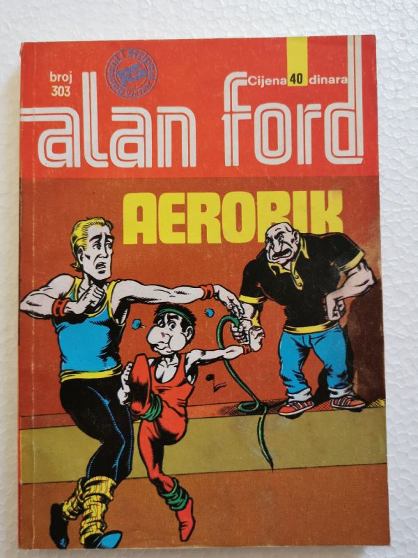 ALAN FORD br. 304