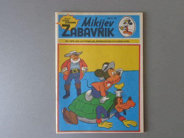 MIKIJEV ZABAVNIK Br 172 1978 GOD.  (  5 )