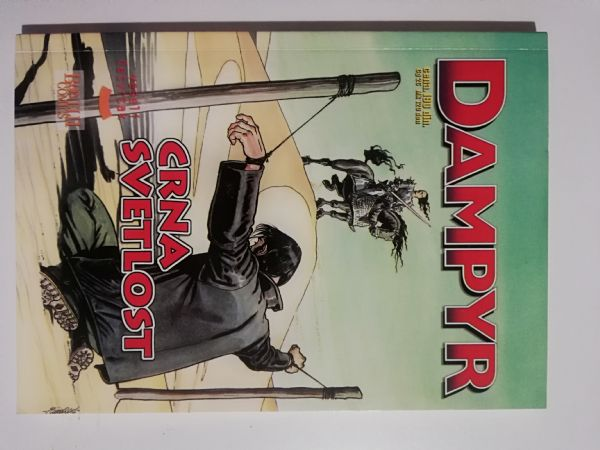Dampyr 19 - Crna svetlost (Veseli Četrvtak)