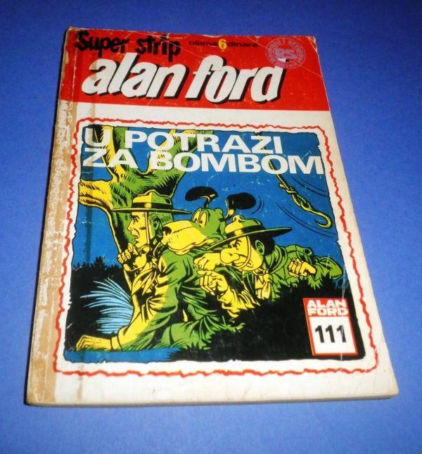 Alan Ford SSB 111: U potrazi za bombom
