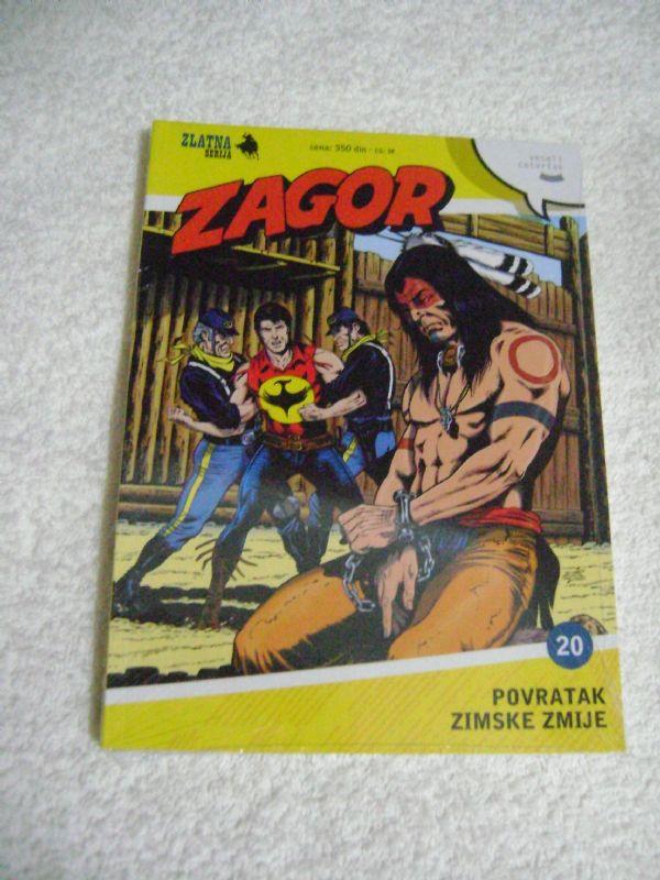 ZS 20 - POVRATAK ZIMSKE ZMIJE - ZAGOR
