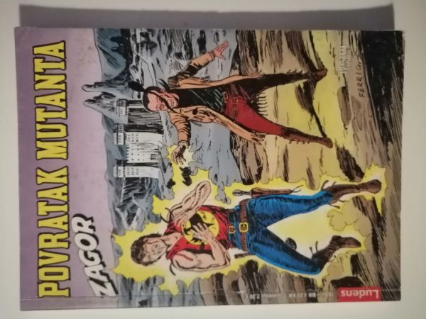 Zagor 179 - Povratak mutanta (Ludens)