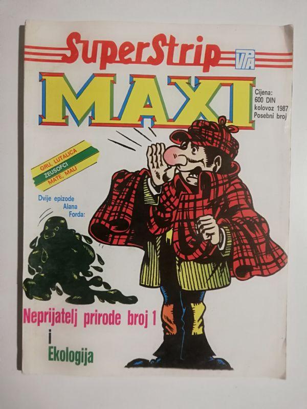 Alan Ford maxi kolovoz 1988 (Vjesnik)