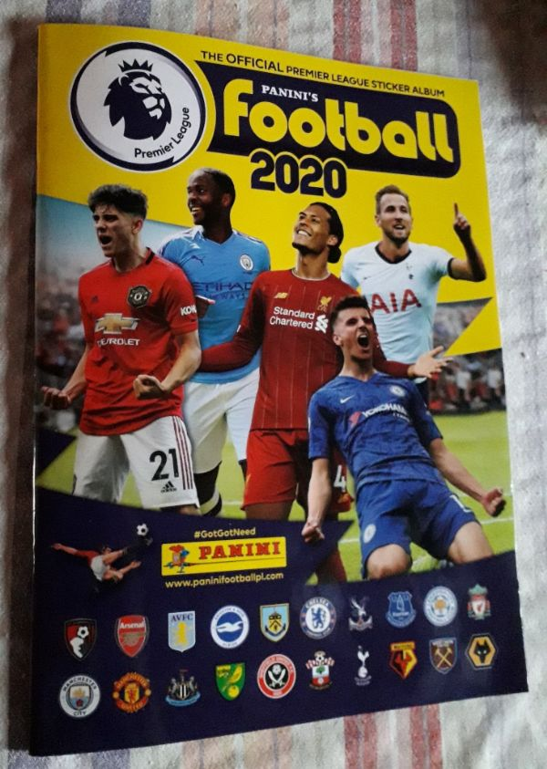 Album - Panini's Football 2020 - The official premier league sticker album (A)