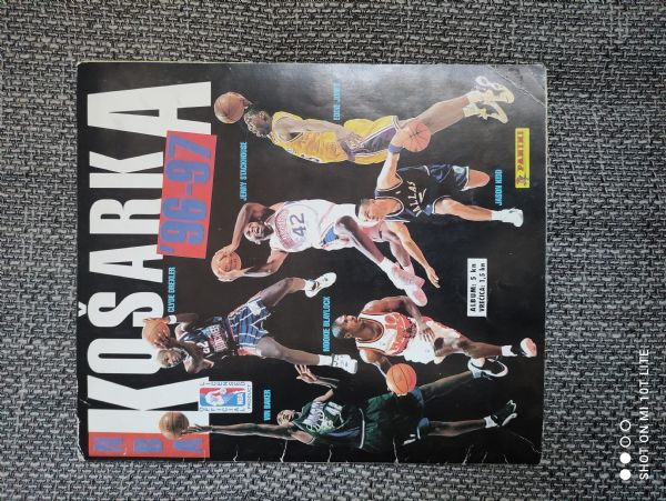 Album sa sličicama Košarka NBA 96-97