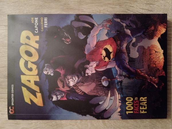 Zagor 1000 Faces of Fear (Epicentar/Andreucci naslovnica)