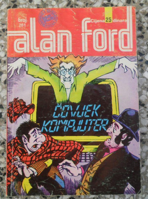 ALAN FORD -SS- br 281 - Čovjek kompjuter