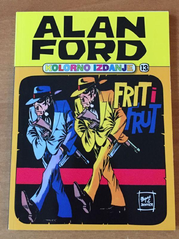 Alan Ford colorac 13