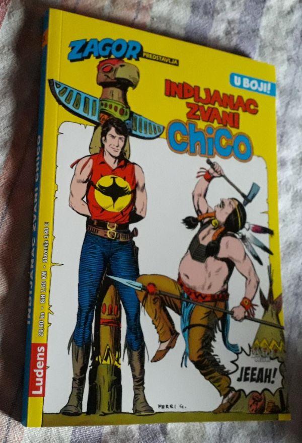 Zagor predstavlja, broj 3 - Indijanac zvan Chico (P)