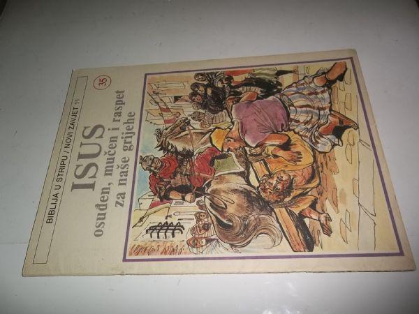 BIBLIJA U STRIPU BROJ 35 strip u boji veliki format