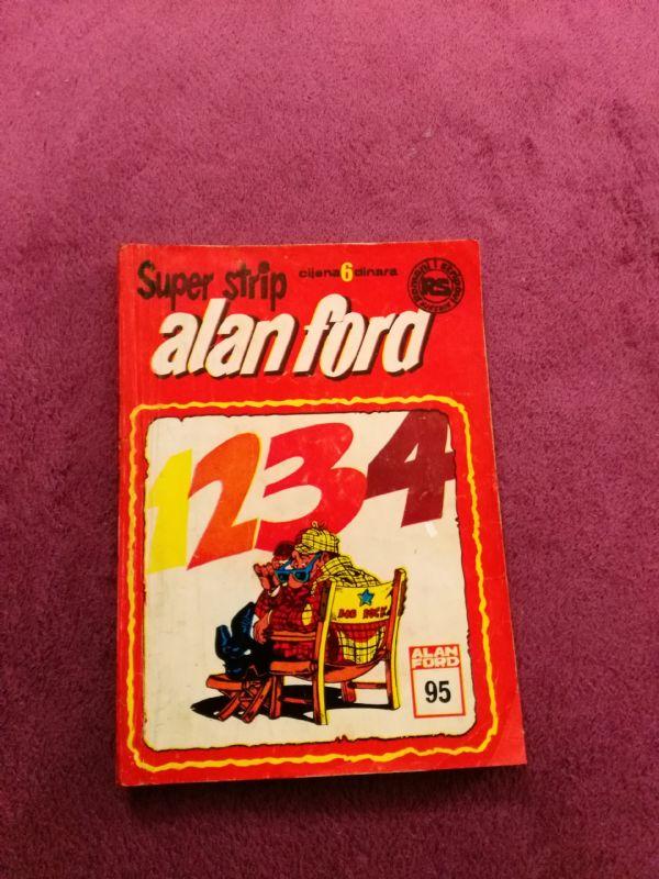 ALAN FORD Superstrip br. 95 - Jedan, dva, tri, četiri
