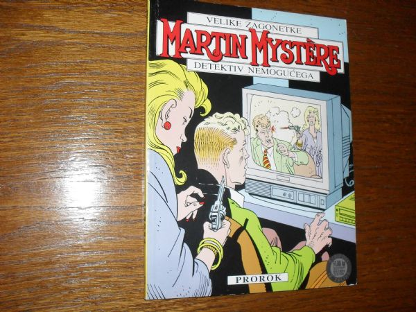 MARTIN MYSTERE br. 3 - PROROK (+5)