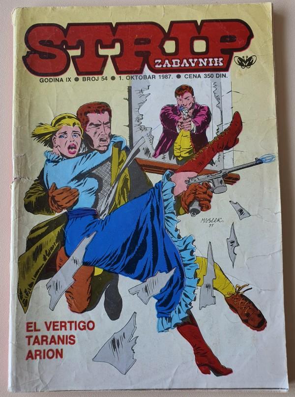 Strip zabavnik 54 (Dnevnik)
