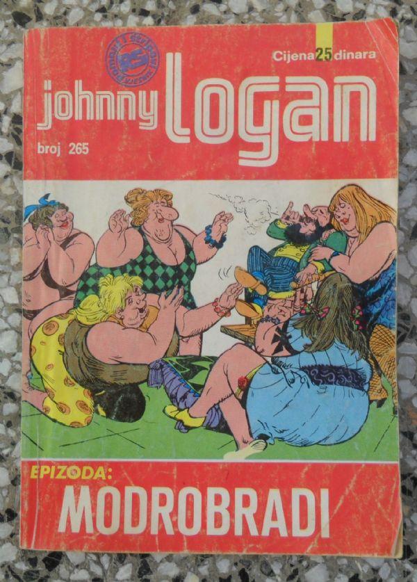 Johnny Logan 265 - Modrobradi