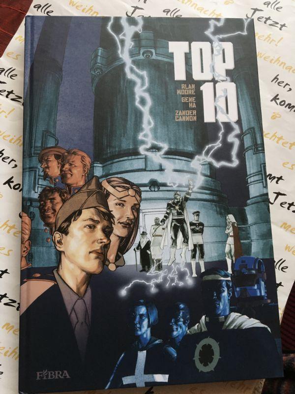 Alan Moore - Top 10 knjiga 2  (Fibra)