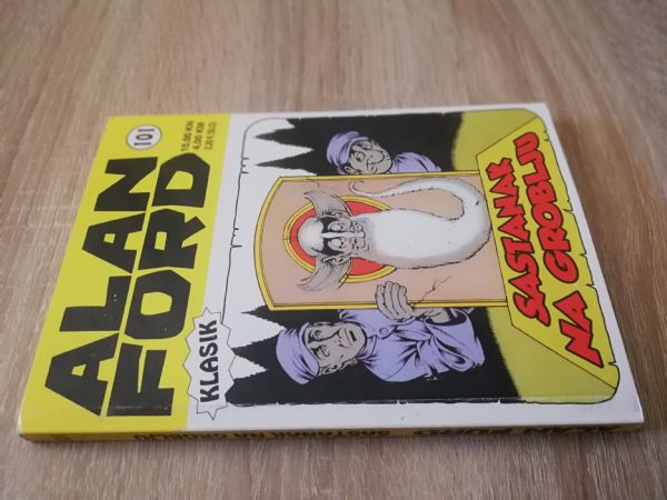 Alan Ford extra 101 - Sastanak na groblju (Strip agent)