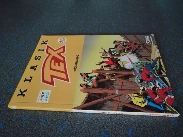 Tex klasik 13 - Užasna noć (Strip Agent)