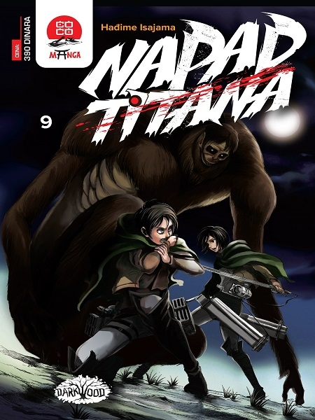 Napad Titana br.9