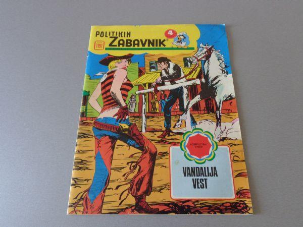 POLITIKIN ZABAVNIK Br 1191  1974 GOD.  ( 4+ )