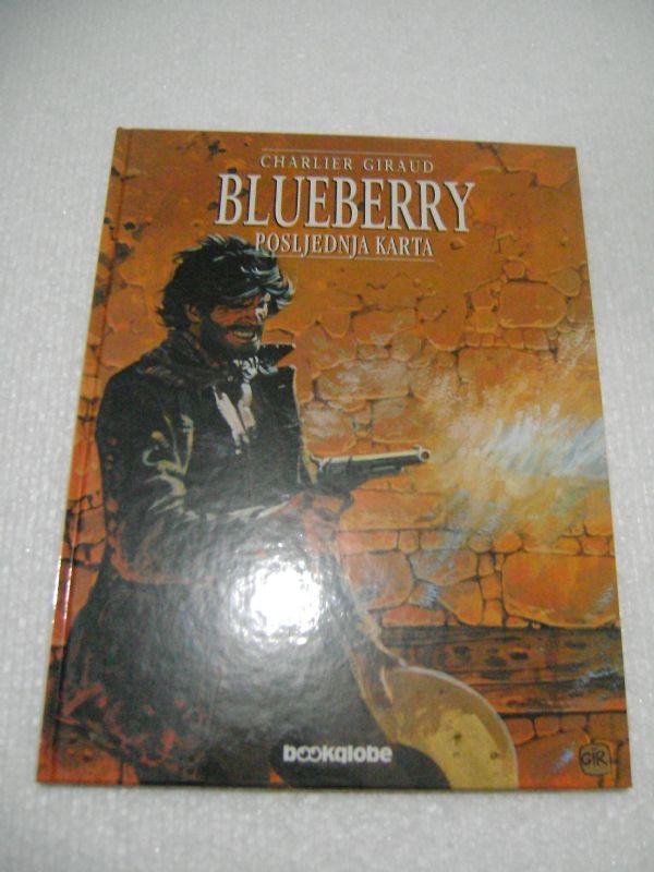 BLUEBERRY 21 -  POSLJEDNJA KARTA - BOOKGLOBE