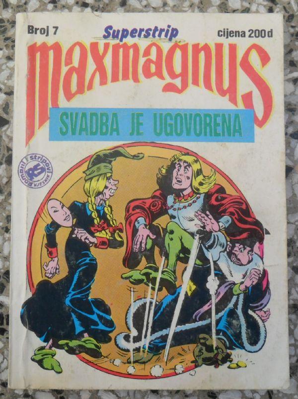 Maxmagnus Superstrip br. 7 - SVADBA JE UGOVORENA