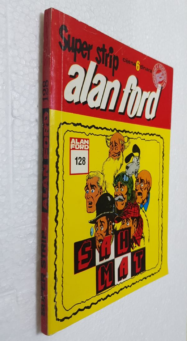 ALAN FORD br. 128