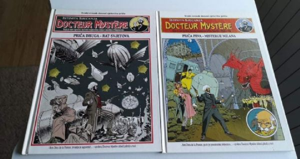 Doctor Mystere 1&2 Strip-Agent
