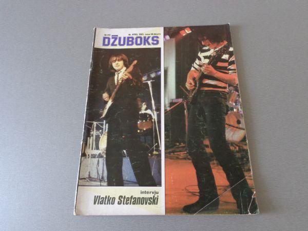 DŽUBOKS Br 112  POSTER  RAINBOW  (  4+ )