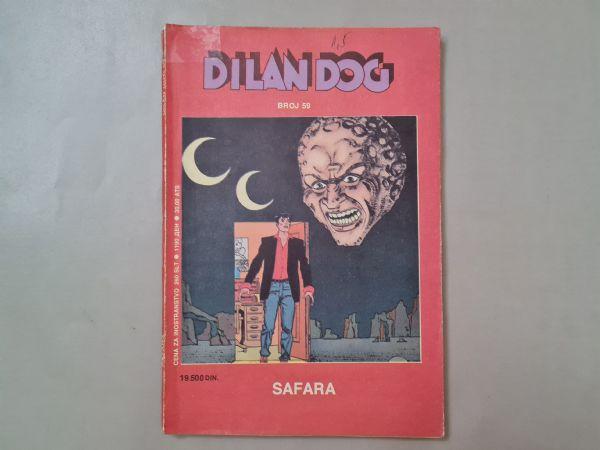 Dylan Dog 59, Safara,jako rijedak strip