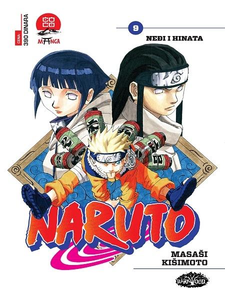 NARUTO  (Manga) br. 9