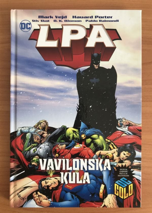 LPA: Vavilonska kula - DC Gold 10 (Čarobna knjiga)