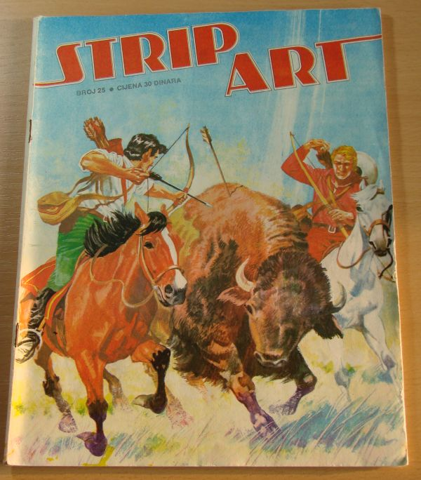 Strip art 25 (Oslobođenje, 1979)