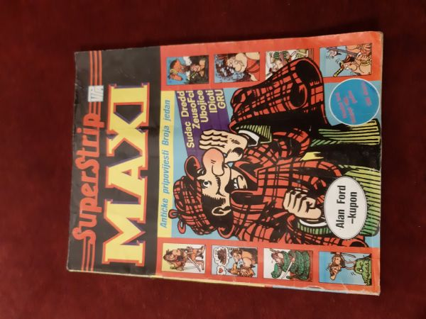 Superstrip Maxi br. 11 listopad 1988